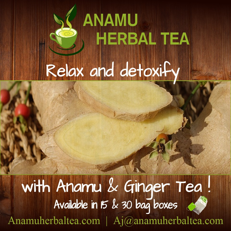 Ginger Herbal Tea with Anamu