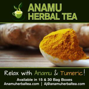 Anamu & Tumeric Flavored Herbal Tea